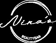 Logo Nina's Beauty wit transparant